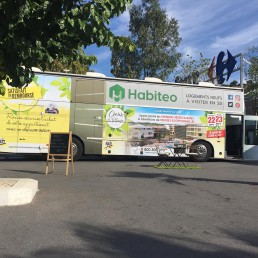 Habiteo Truck, centre commercial - Roxim
