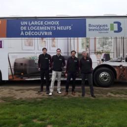 Bouygues Immobilier Patrimoine - tournée Habiteo Truck