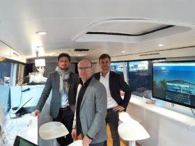 Equipe Bouygues Immobilier Habiteo Truck intérieur