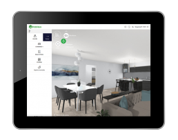 Habiteo - configurateur de logement - tablette